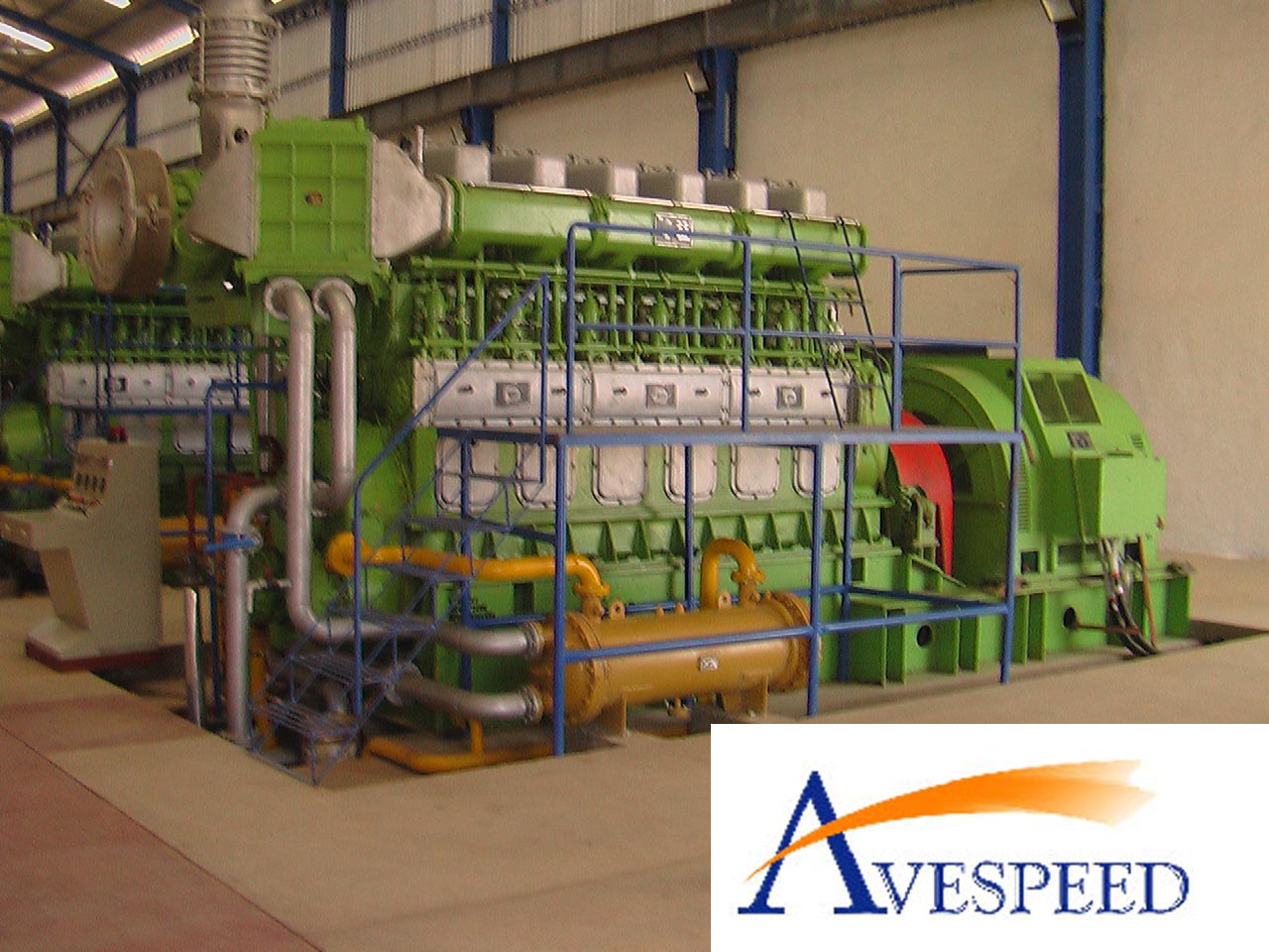 3MW HFO GENSET- POWER PLANT(N330 Gen)