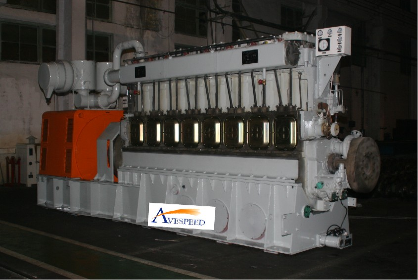 1204kw-15000kw gas generator set