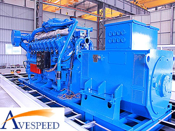 AVESPEED 1000KW/380V/50HZ/1000rpm Diesel Generator set(点击看大图)