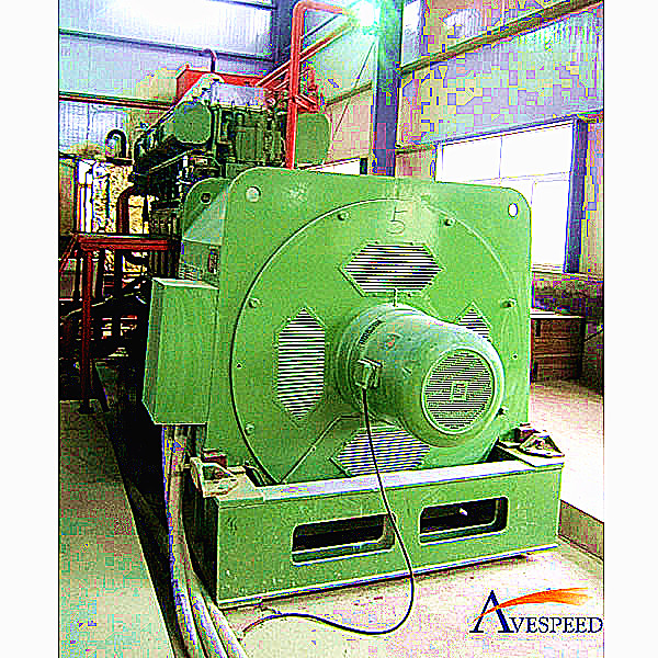 AVESPED HFO/diesel and gas mixed dual fuel generator set(点击看大图)